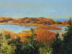 Fall-Day-Ocean-Drive-Tidal-Pond